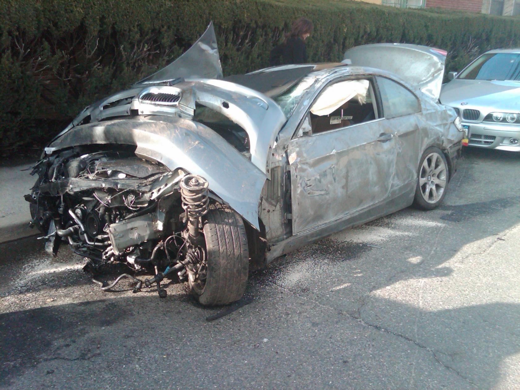 Testament To Bmw Safety Severe Accident