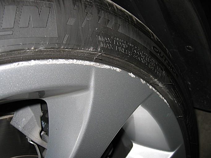 Kerb Damage Scuff Scrape Silver Alloy Wheel Repair Kit for BMW 1 Series
