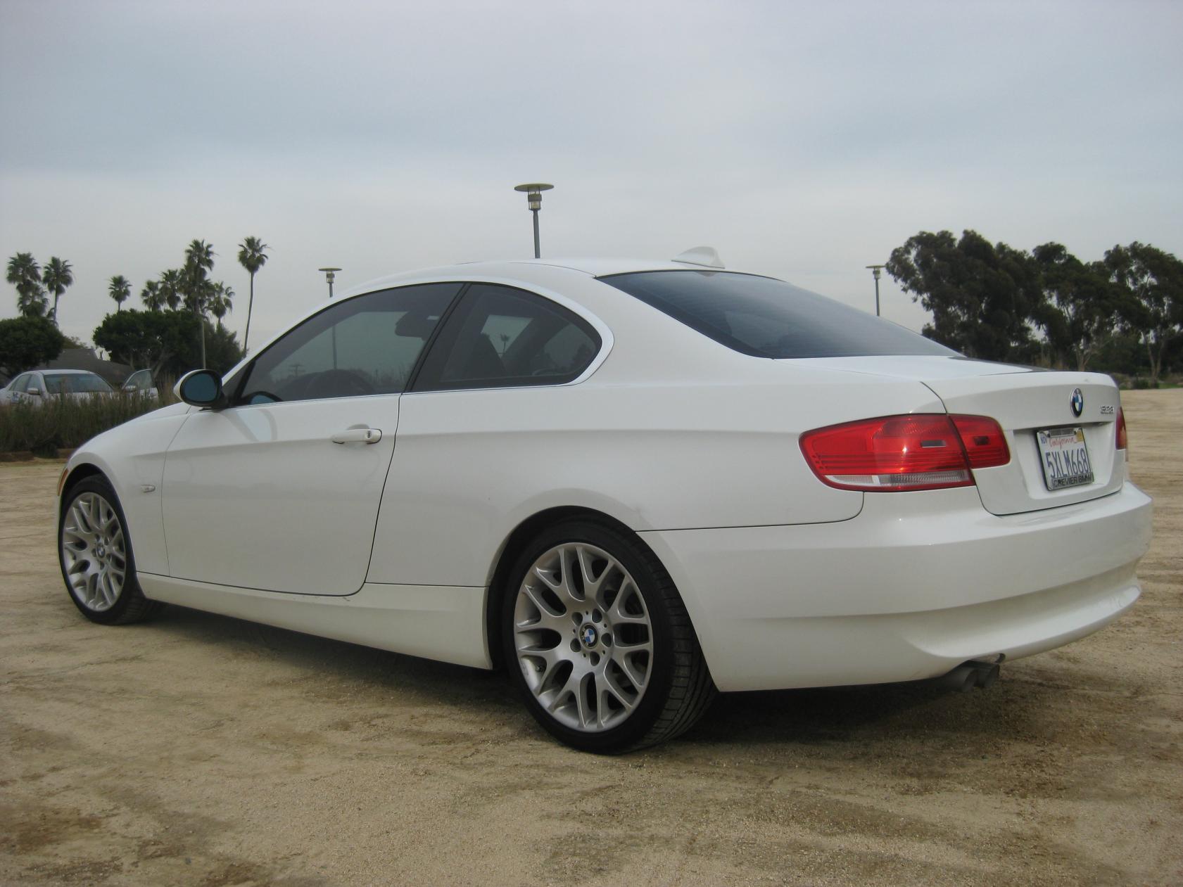 FS BMW I Coupe MT Alpine White - Bmw 328i coupe 2007