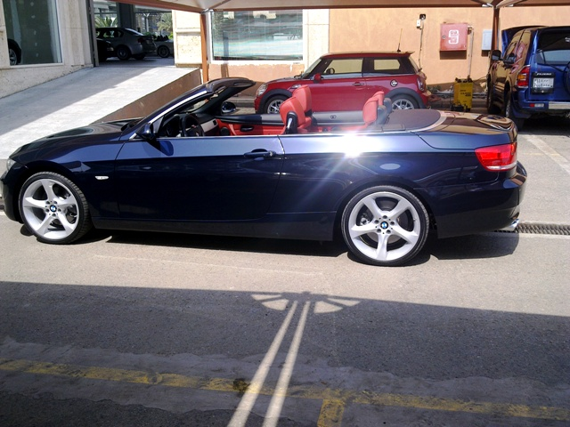 E93 Monaco Blue/Coral Red - Bimmerfest - BMW Forums