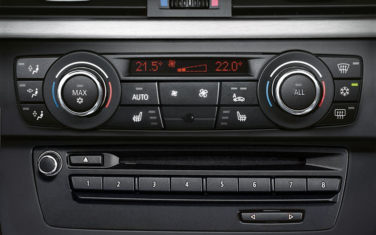 2011 Climate control unit with heated seat buttons