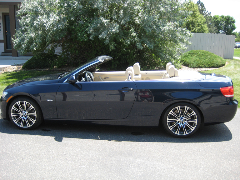 Fs 2007 Bmw 335i E93 Convertible Monaco Blue