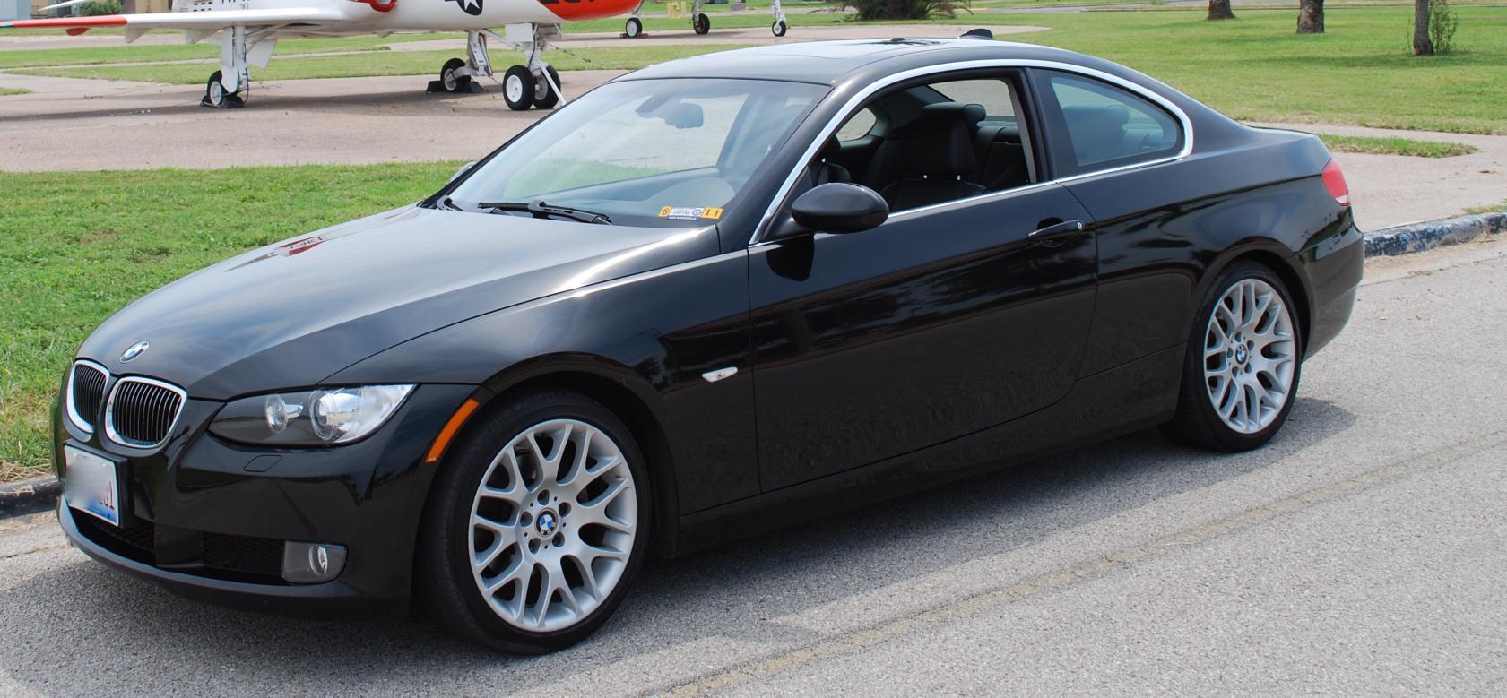 FS BMW E I Coupe Jet BlackBlackWalnut Trim Sport - 328i bmw coupe