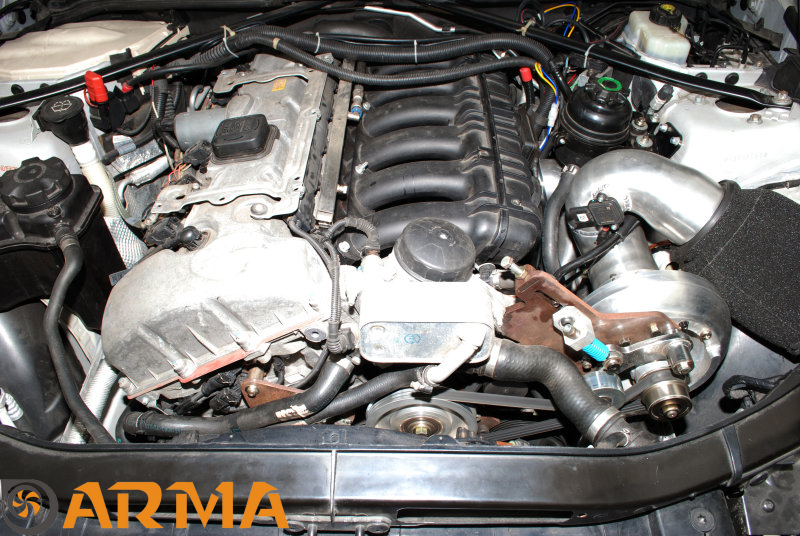 Arma Supercharger N52 Offical Dyno 291bhp 323i