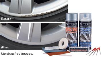 Curb Rash Repair Kit