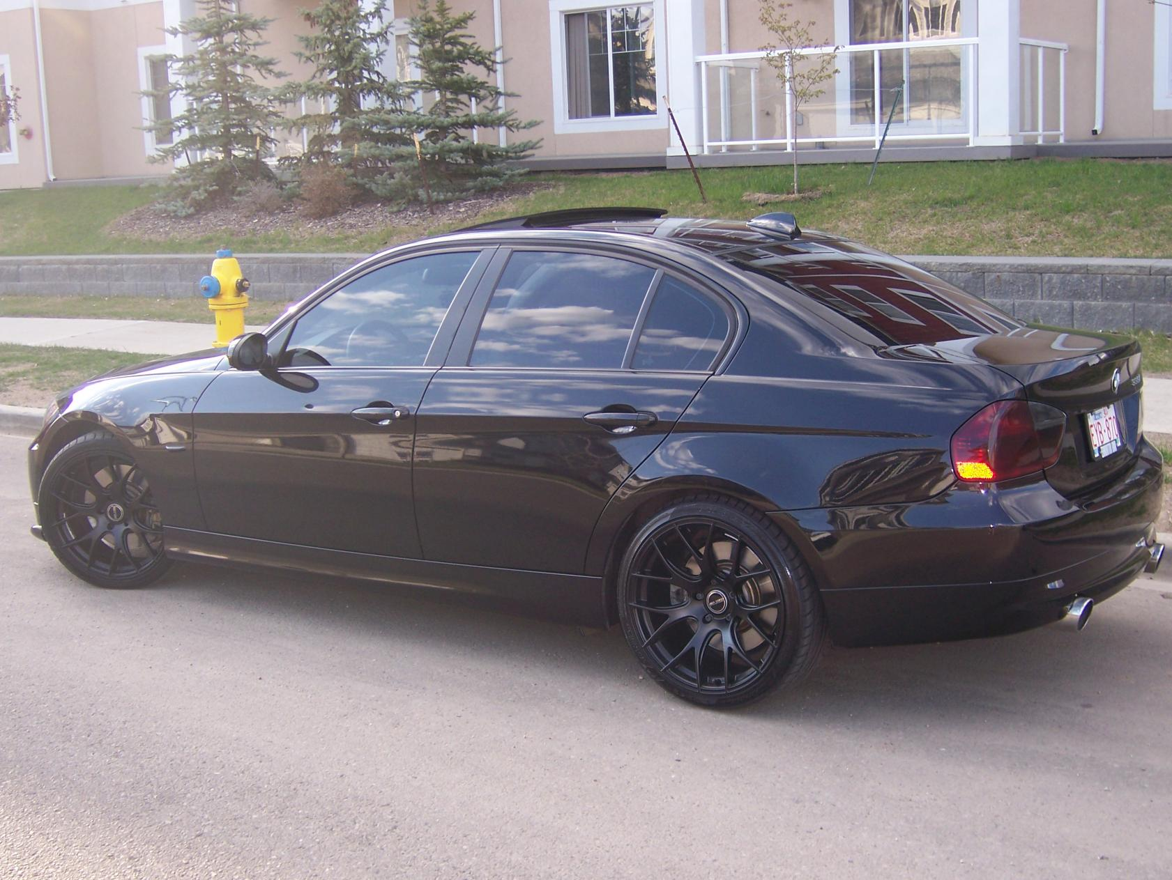 My Blacked Out E90