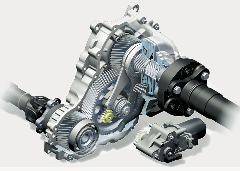 | Repair Guides | Transfer Case - Nvg 900 (2007 ...  |All Wheel Drive Transfer Case Diagram