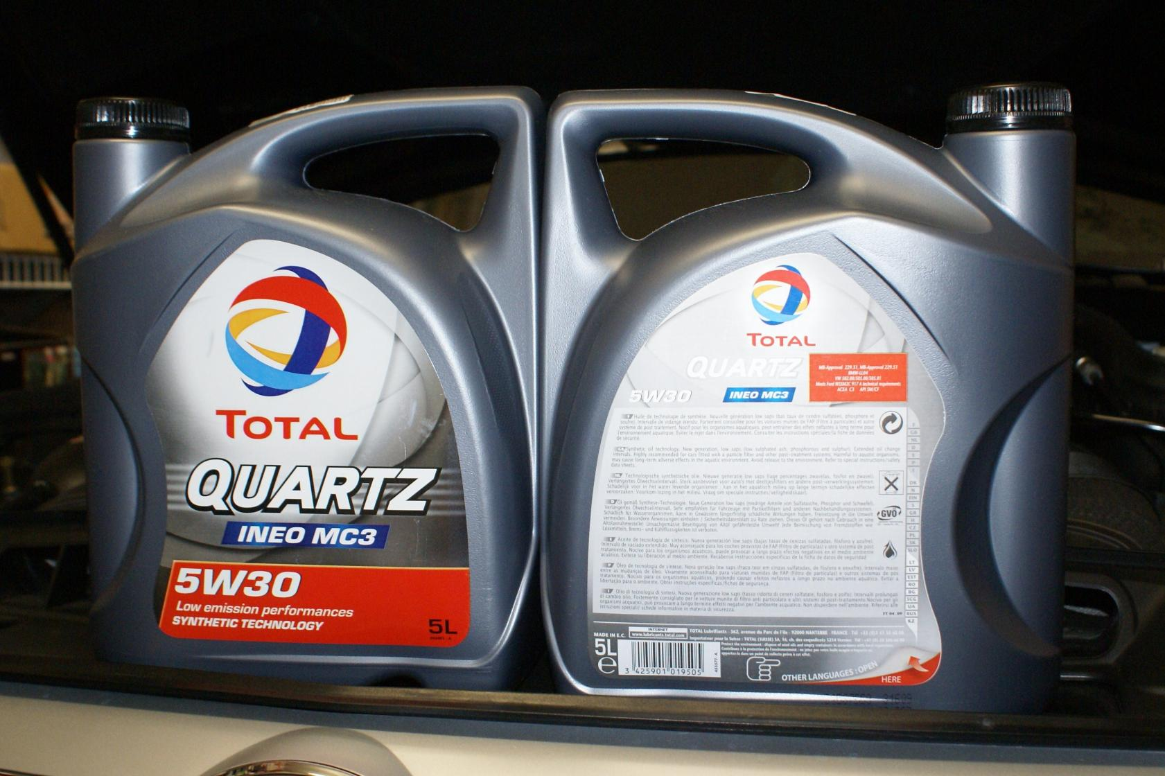 Total Quartz Ineo Ll 5w 30 Made By Elf Tdiclub Forums