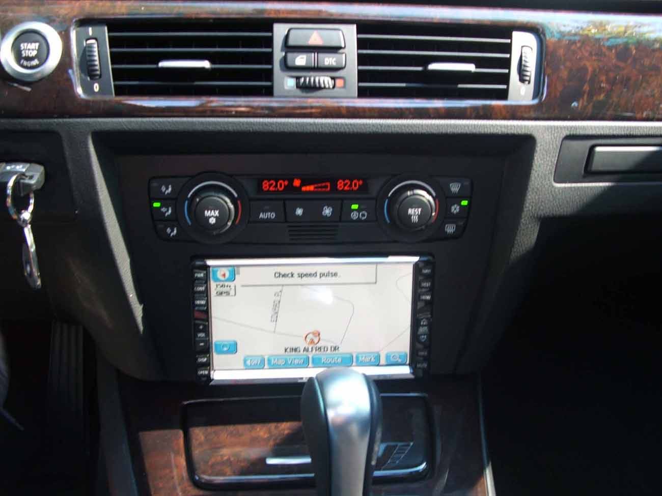 Aftermarket Audio Gps Dvd Bmw 328i Double Din Attached Images