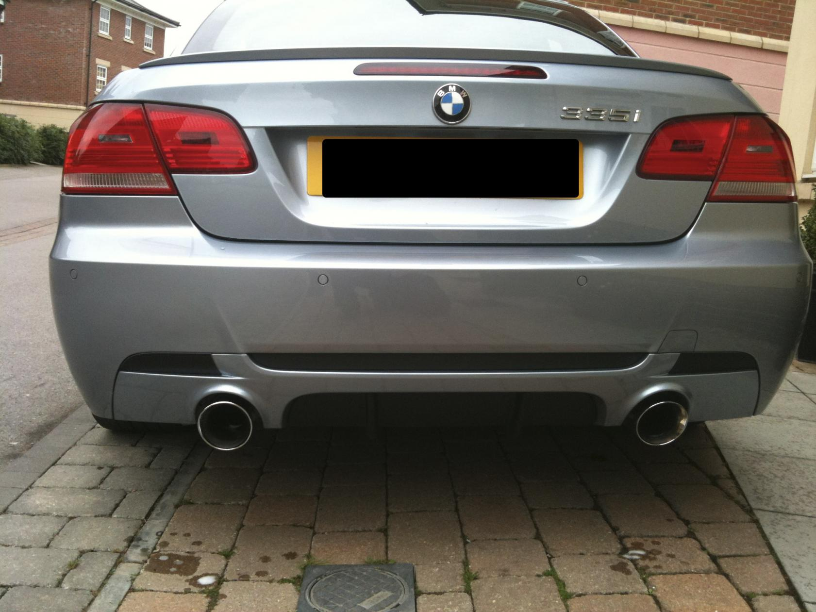 Bmw Performance Diffuser Fitted