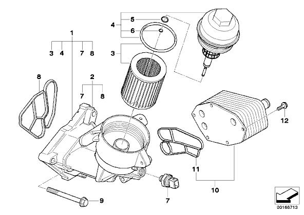 335d oil filter change