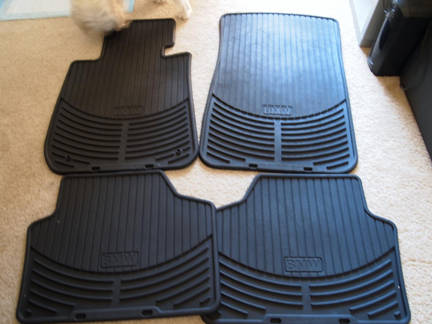 Rubber floor mats bmw x1 - Attached Images