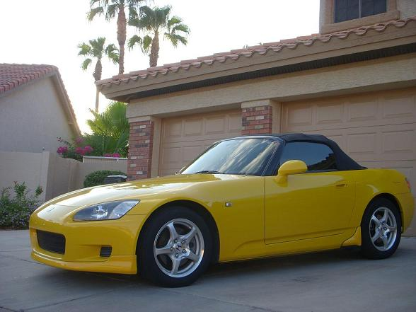 Spa Yellow S2000
