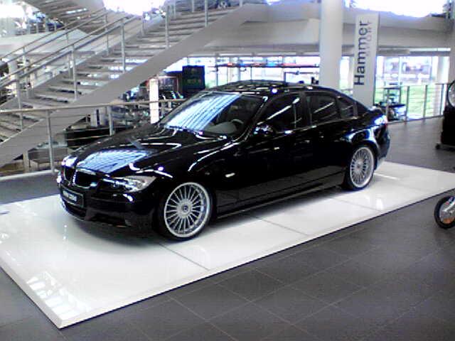 Black E With ALPINA Wheels - Alpina rims bmw