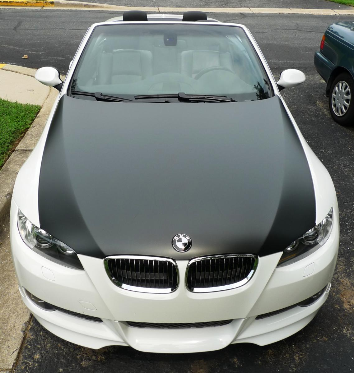 Wrapped My Own Hood With 3m 180 Cv3 Matte Black