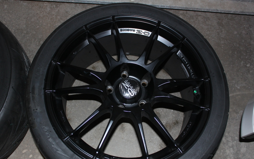 oz racing staggered toyo r888 tires sell or possible trade. Black Bedroom Furniture Sets. Home Design Ideas