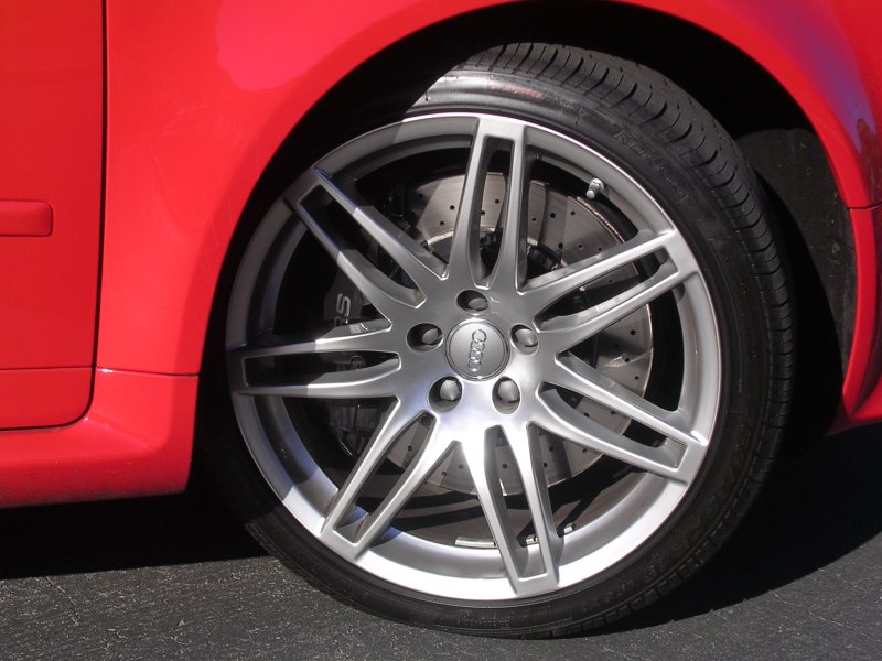 B6 A4 what's the best wheel size