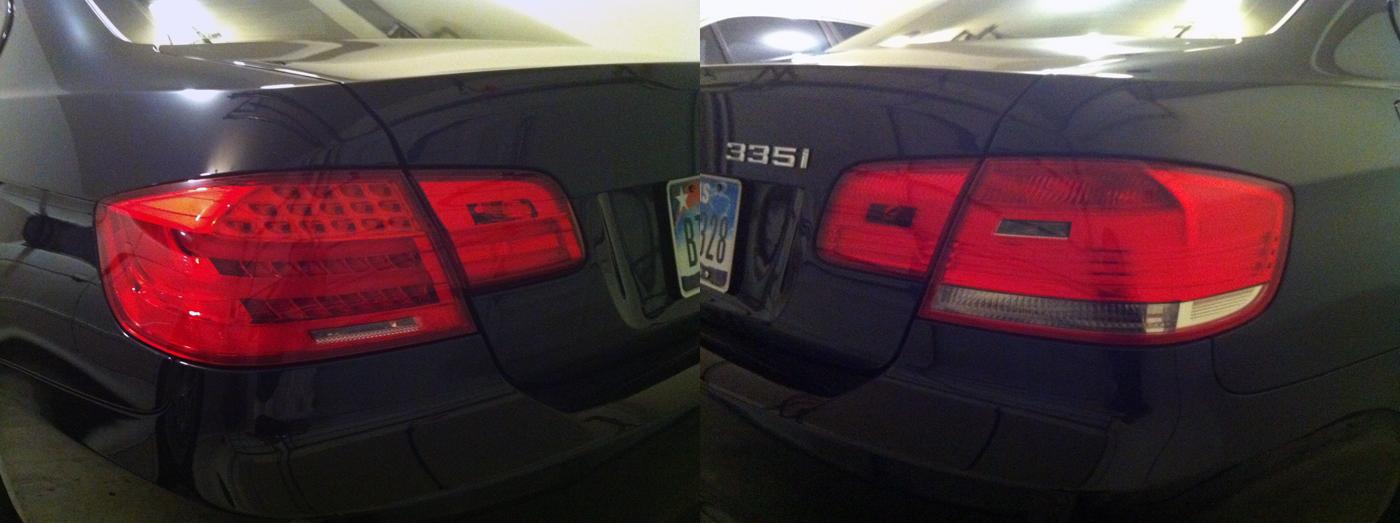 2011 E92 Retrofit Part I Euro Lci Tail Lights Part Ii