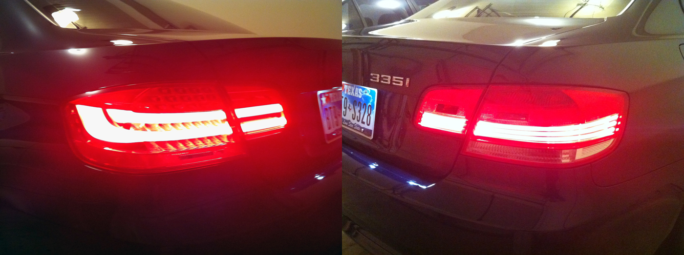 2011 E92 Retrofit Part I Euro Lci Tail Lights Part Ii