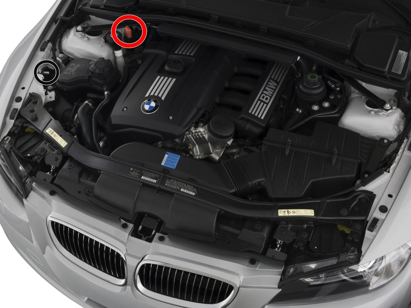 Noob Question Wheres The Battery Location - Bmw 3 series battery