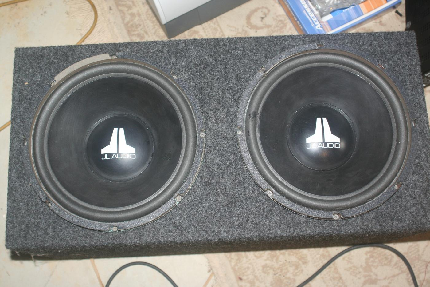 Fs jl audio w3 x2 and enclosure attached images publicscrutiny Choice Image