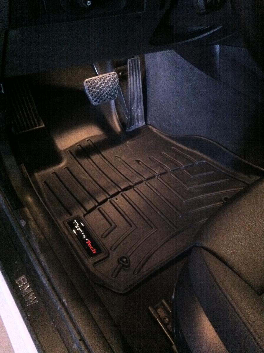 Weathertech floor mats bmw 328i - Attached Images