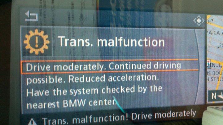 Trans Malfunction Bmw 3 Series E90 E92 Forum
