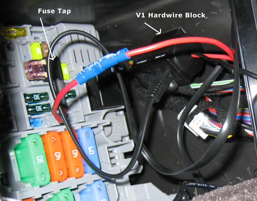Help On V1 Fuse Hardwire (LCI Fuse Box Different From Pre LCI)