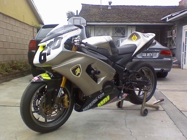 2005 Kawasaki Zx6r 636 Trackbike 3800 Obo
