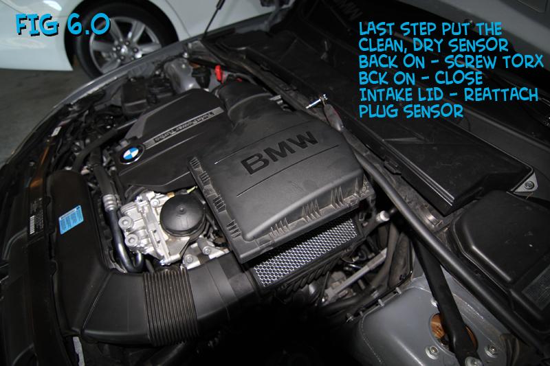 Diy - Maf Sensor Cleaning - BMW 3-Series (E90 E92) Forum