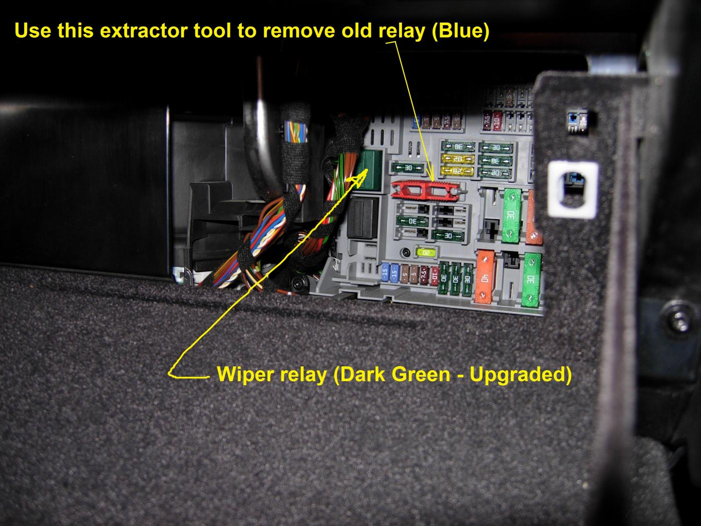 2004 Bmw 530i Fuse Box Diagram Simple Guide About Wiring 525i Location How To Repair E90 Wipers Not Parking Correctly