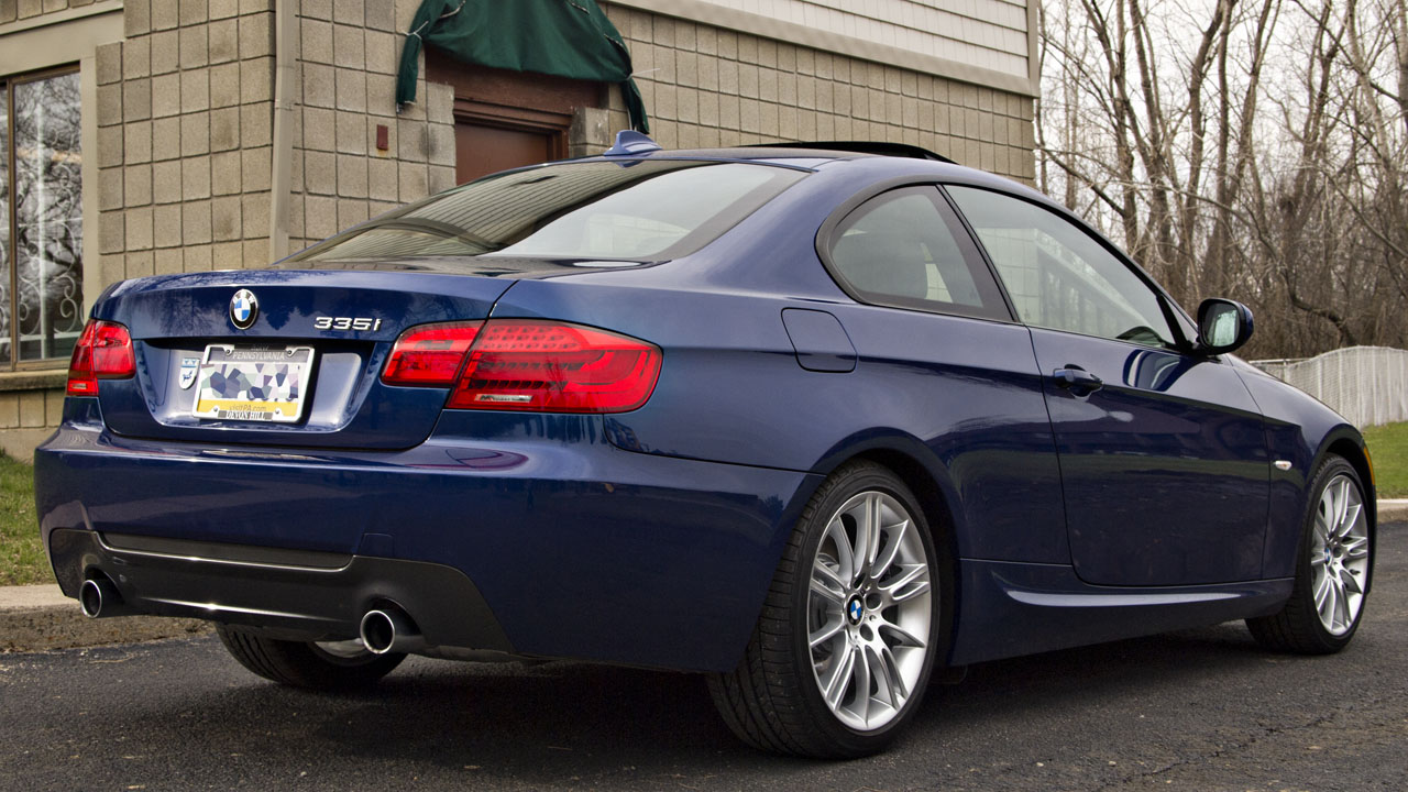 2009 bmw 335i coupe m sport package