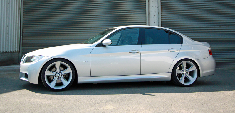 E90 With Bmw Rim 128 19 Quot