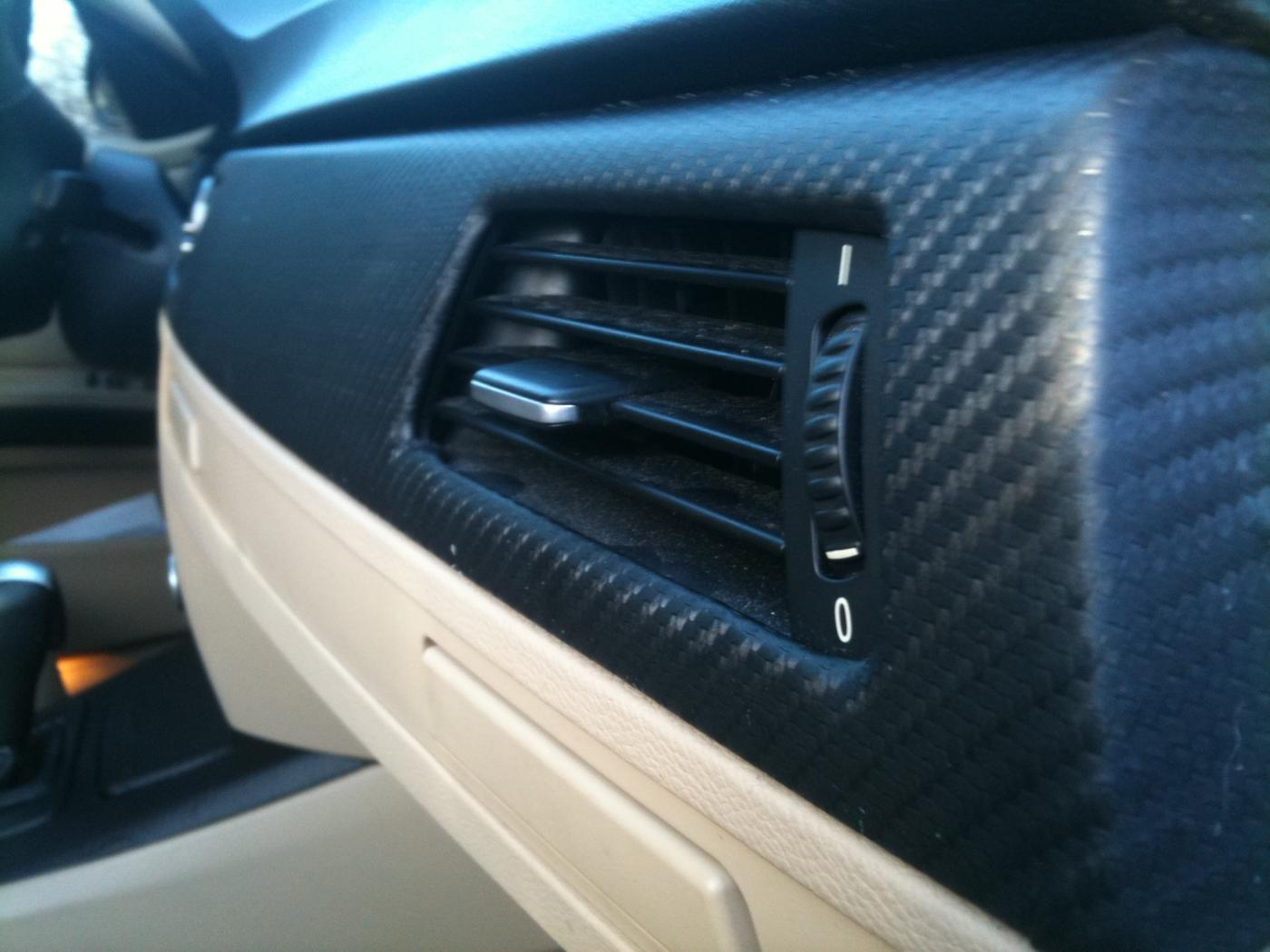 Carbon Fiber Interior Trim Wrap