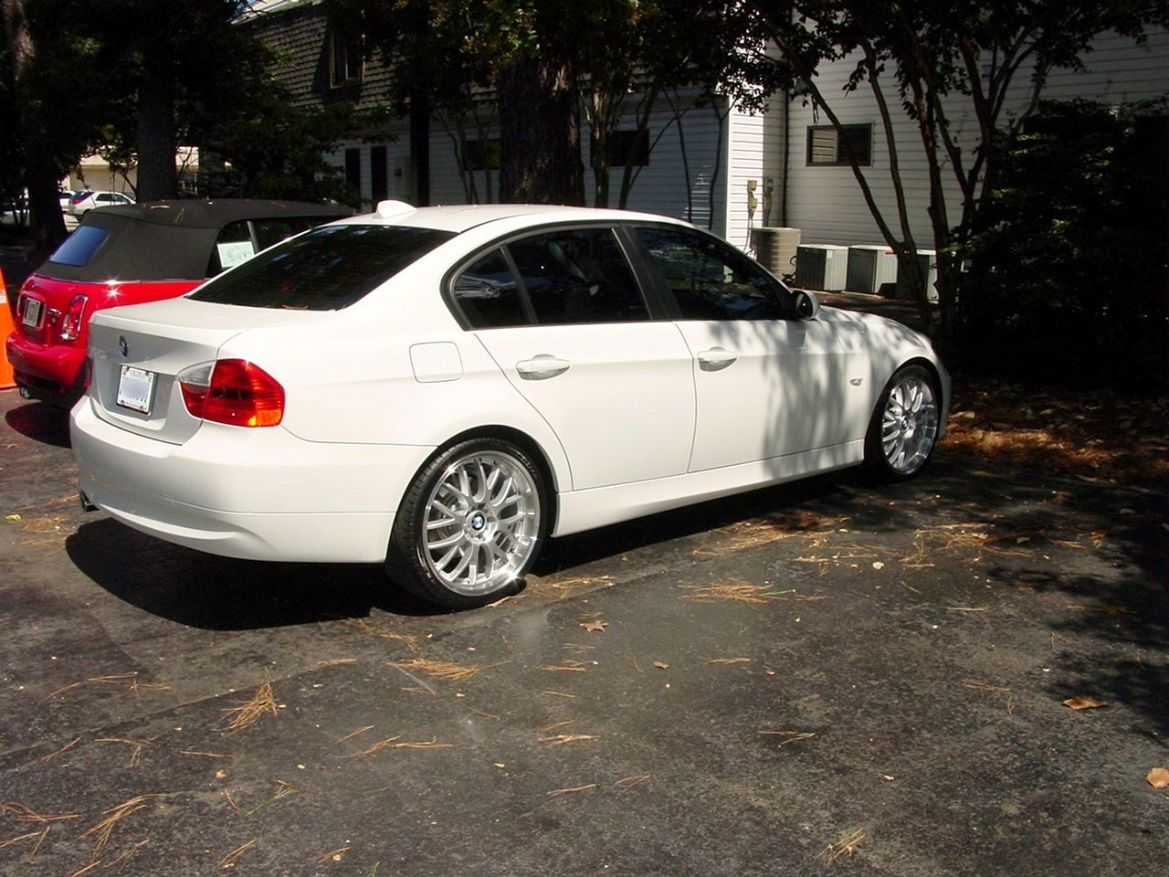 Official window tinting picture thread for 1999 bmw 323i convertible rear window