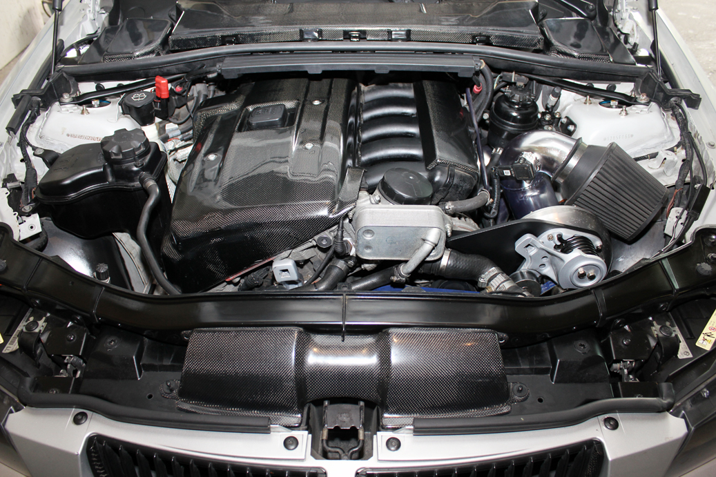 Supercharged 323 E90