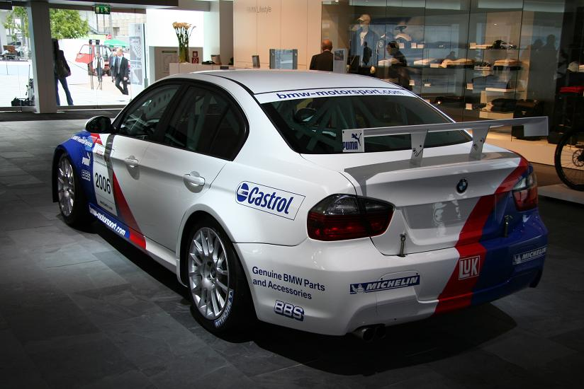 Bmw 320si Wtcc Car 275 Hp From 20 Liters