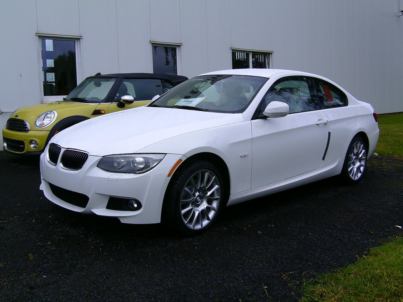 2008 bmw 328i coupe sport package