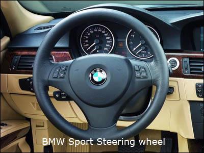 Steering Wheel Trim - Bmw 325i steering wheel