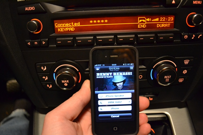 Success Streaming Music From Iphone Over Bluetooth
