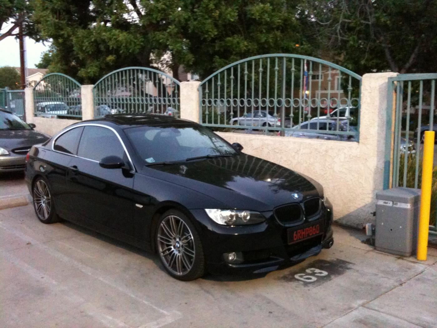 Fs Bmw I Coupe Black - Bmw 335i 2008 coupe