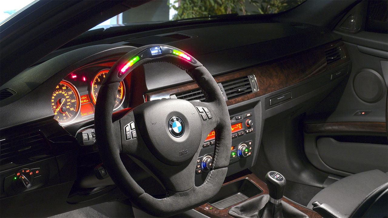 Night Shots Bmw Performance Steering Wheel Electric