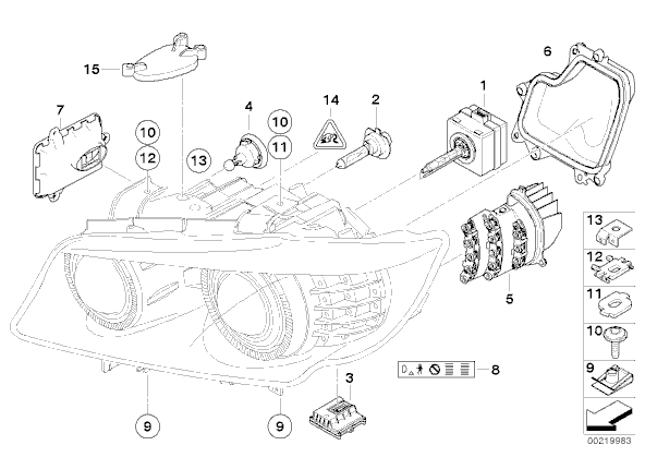 Bmw E90 Headlight Diagram, Bmw, Free Engine Image For User