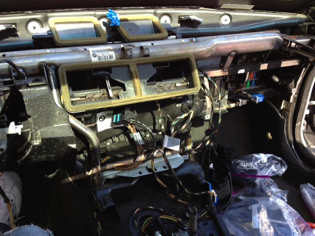 Heater Core Removal Procedure