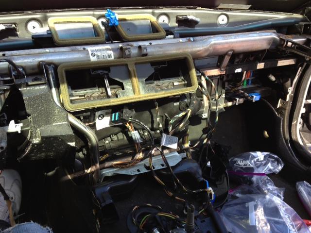 Heater Core Removal Procedure