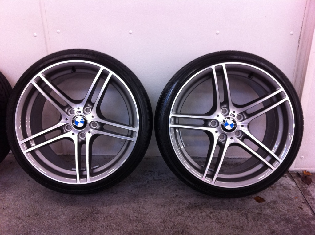 Fs Oem Bmw Performance 19 Style 313 M Wheels And Tires Free