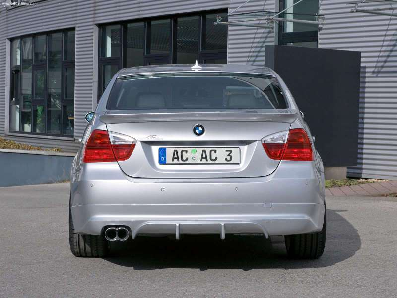 E90 Ac Schnitzer Quad Exhaust Picture Opinions Please