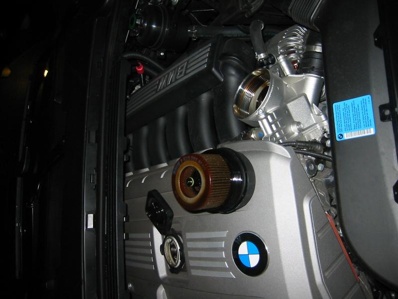 06 325i oil level check