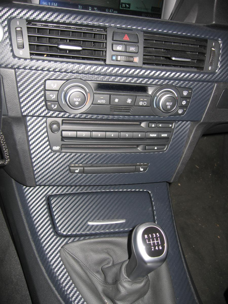 3m Carbon Fiber Vinyl Interior Wrap