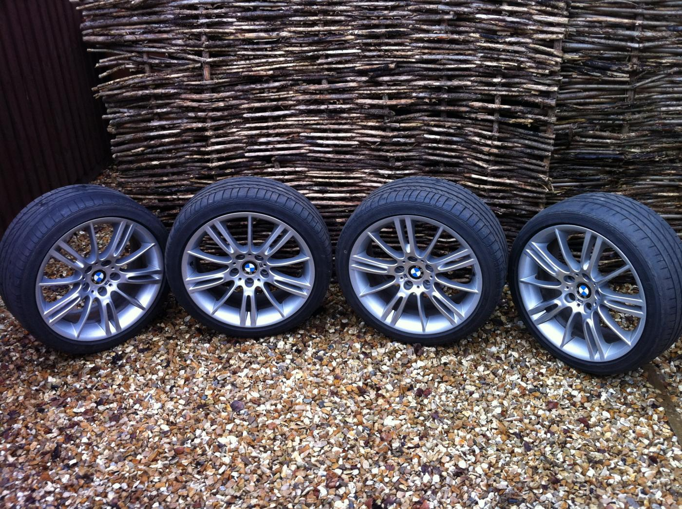 Bmw 18 Inch M Sport Wheels With Tyres